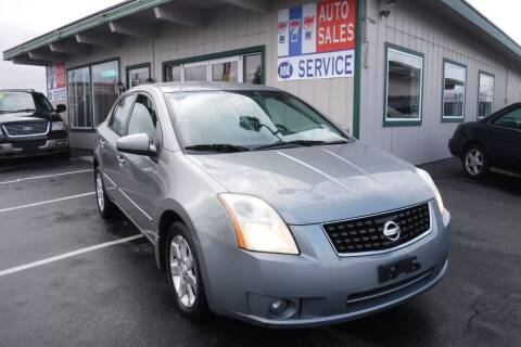 2008 Nissan Sentra for sale at 777 Auto Sales and Service in Tacoma WA