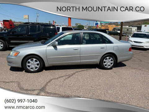 2003 Toyota Avalon for sale at North Mountain Car Co in Phoenix AZ