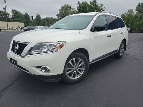 2013 Nissan Pathfinder for sale at Cruisin' Auto Sales in Madison IN