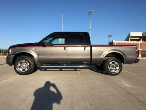 2004 Ford F-250 Super Duty for sale at ALL AMERICAN FINANCE AND AUTO in Houston TX