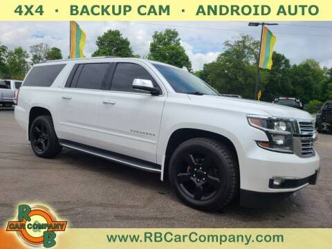 2016 Chevrolet Suburban for sale at R & B CAR CO - R&B CAR COMPANY in Columbia City IN
