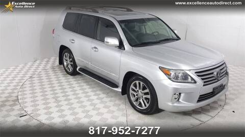 2014 Lexus LX 570 for sale at Excellence Auto Direct in Euless TX