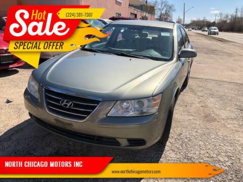 2009 Hyundai Sonata for sale at NORTH CHICAGO MOTORS INC in North Chicago IL