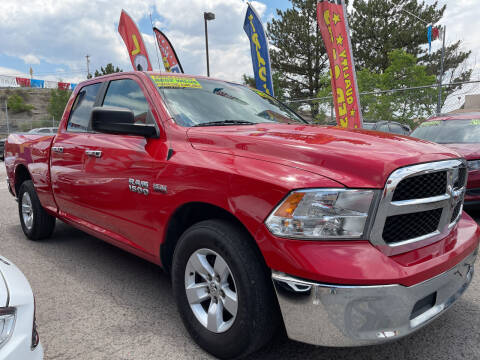 2017 RAM Ram Pickup 1500 for sale at Duke City Auto LLC in Gallup NM