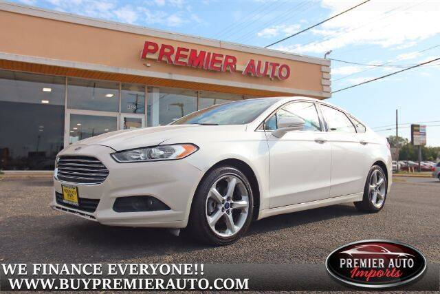 2015 Ford Fusion for sale at PREMIER AUTO IMPORTS - Temple Hills Location in Temple Hills MD