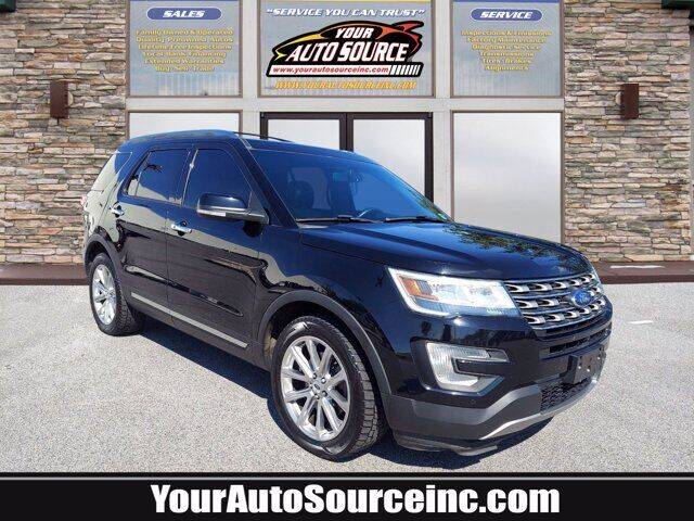2017 Ford Explorer for sale at Your Auto Source in York PA