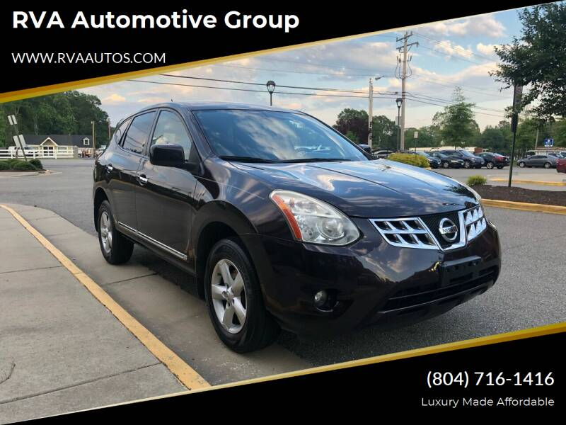2013 Nissan Rogue for sale at RVA Automotive Group in Richmond VA