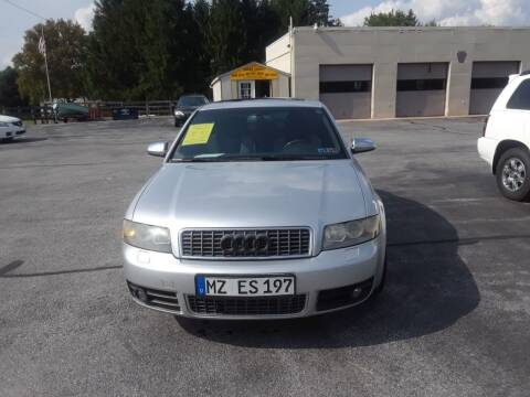 2005 Audi S4 for sale at Dun Rite Car Sales in Downingtown PA