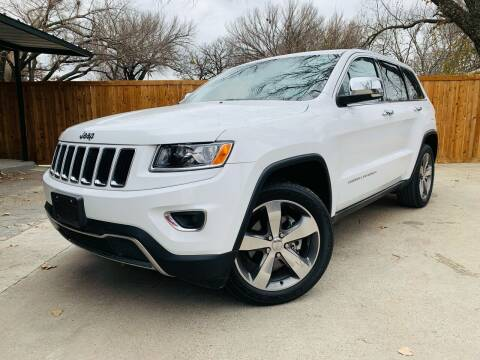 2014 Jeep Grand Cherokee for sale at DFW Auto Provider in Haltom City TX