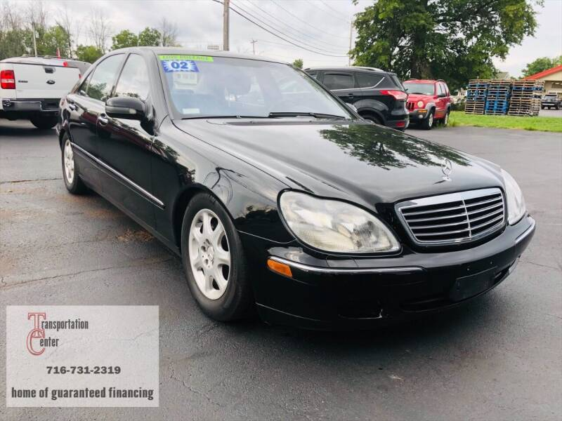 2002 Mercedes-Benz S-Class for sale at Transportation Center Of Western New York in Niagara Falls NY