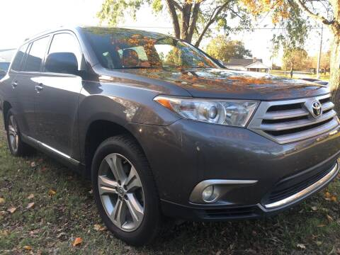 2011 Toyota Highlander for sale at Creekside Automotive in Lexington NC