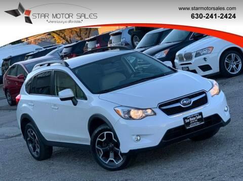 2013 Subaru XV Crosstrek for sale at Star Motor Sales in Downers Grove IL