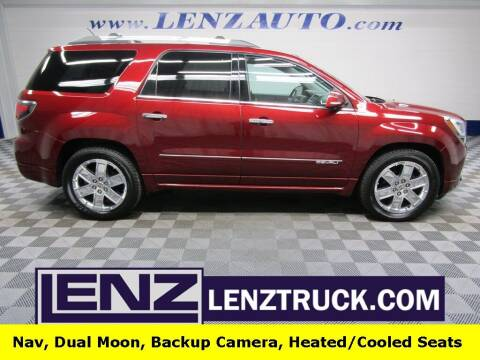 2015 GMC Acadia for sale at LENZ TRUCK CENTER in Fond Du Lac WI