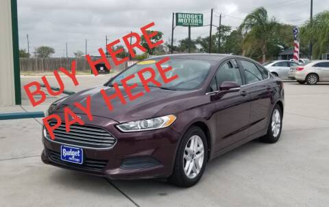 2013 Ford Fusion for sale at Budget Motors in Aransas Pass TX