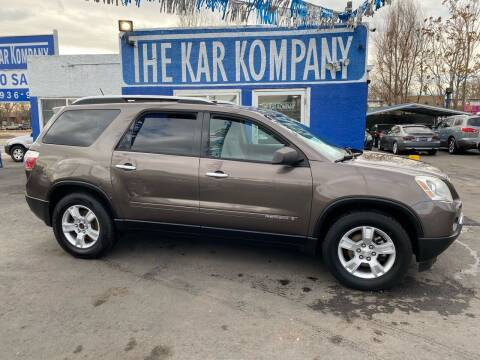 2008 GMC Acadia for sale at The Kar Kompany Inc. in Denver CO