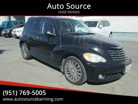 2007 Chrysler PT Cruiser for sale at Auto Source in Banning CA