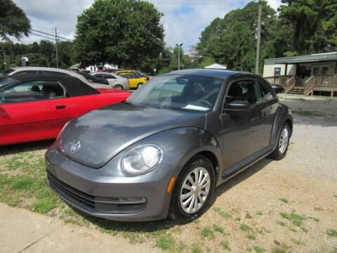 2012 Volkswagen Beetle for sale at Dallas Auto Mart in Dallas GA