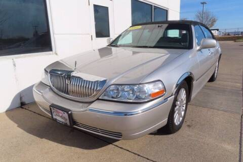 2003 Lincoln Town Car for sale at HILAND TOYOTA in Moline IL