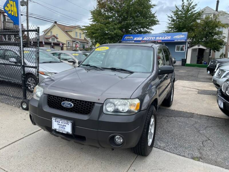 2006 Ford Escape for sale at KBB Auto Sales in North Bergen NJ