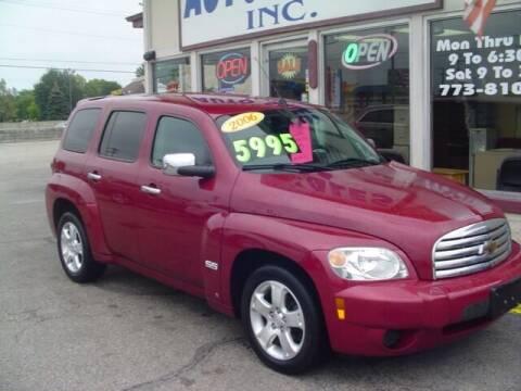 2006 Chevrolet HHR for sale at G & L Auto Sales Inc in Roseville MI