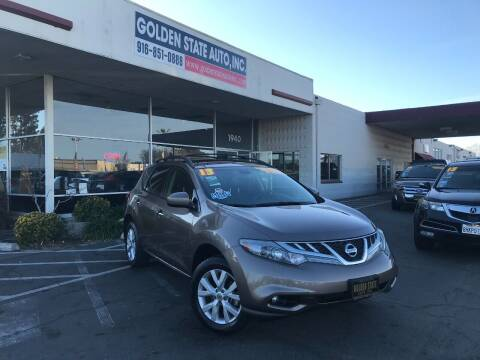 2013 Nissan Murano for sale at Golden State Auto Inc. in Rancho Cordova CA