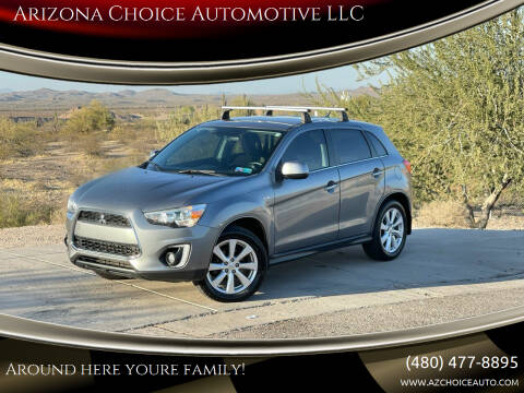 2015 Mitsubishi Outlander Sport for sale at Arizona Choice Automotive LLC in Mesa AZ