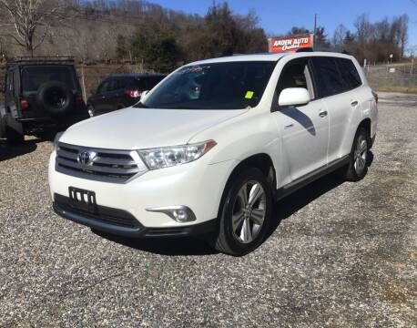 2013 Toyota Highlander for sale at Arden Auto Outlet in Arden NC