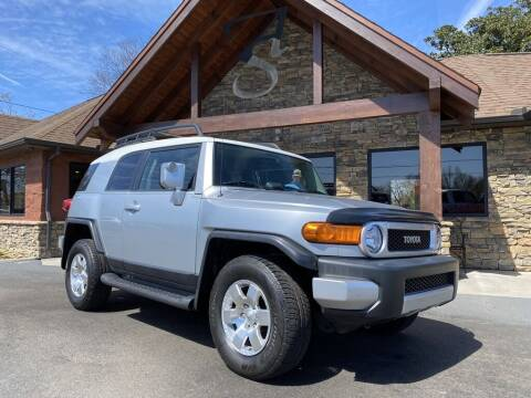 2007 Toyota FJ Cruiser for sale at Auto Solutions in Maryville TN
