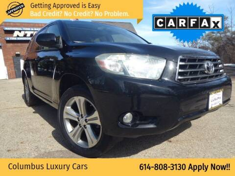 2008 Toyota Highlander for sale at Columbus Luxury Cars in Columbus OH