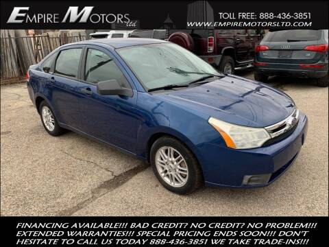 2009 Ford Focus for sale at Empire Motors LTD in Cleveland OH