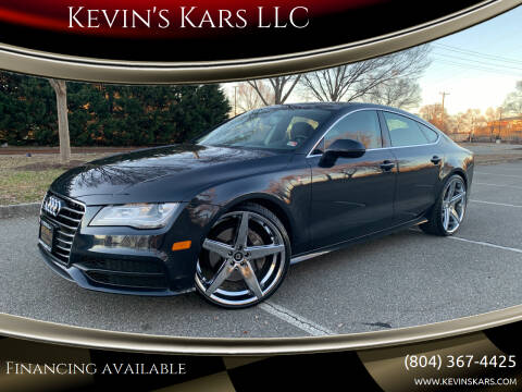 2012 Audi A7 for sale at Kevin's Kars LLC in Richmond VA