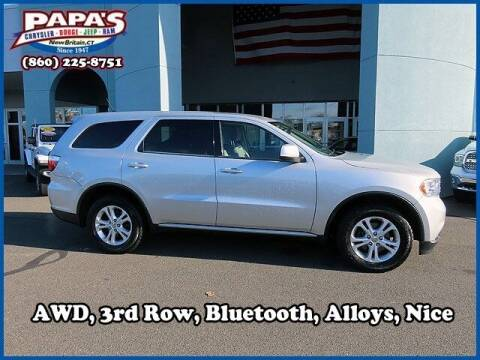 2013 Dodge Durango for sale at Papas Chrysler Dodge Jeep Ram in New Britain CT