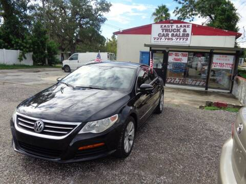 2012 Volkswagen CC for sale at EAST LAKE TRUCK & CAR SALES in Holiday FL