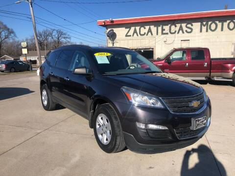 2013 Chevrolet Traverse for sale at Zacatecas Motors Corp in Des Moines IA