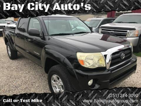 2006 Toyota Tacoma for sale at Bay City Auto's in Mobile AL