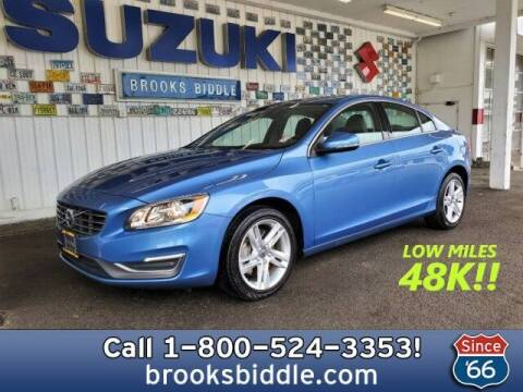 2015 Volvo S60 for sale at BROOKS BIDDLE AUTOMOTIVE in Bothell WA