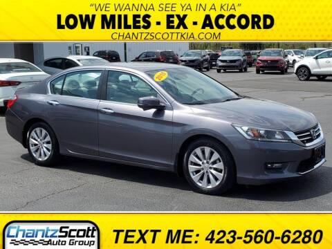 2015 Honda Accord for sale at Chantz Scott Kia in Kingsport TN