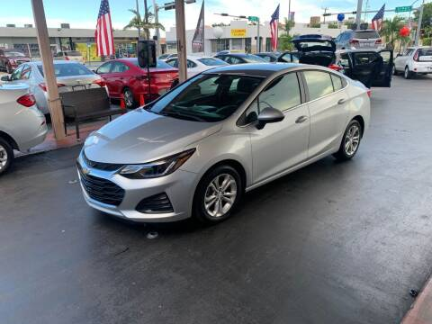 2019 Chevrolet Cruze for sale at American Auto Sales in Hialeah FL
