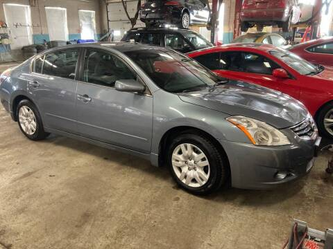 2012 Nissan Altima for sale at ENFIELD STREET AUTO SALES in Enfield CT