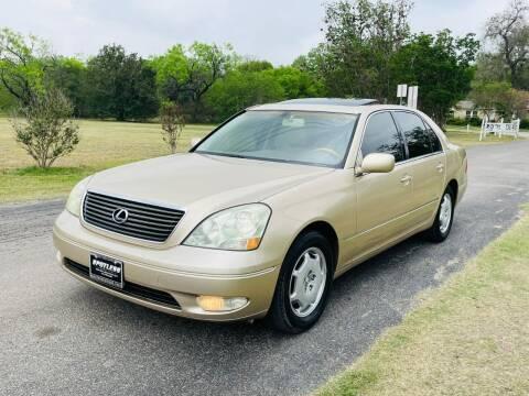 2002 Lexus LS 430 for sale at SPOTLESS AUTO LLC in San Antonio TX