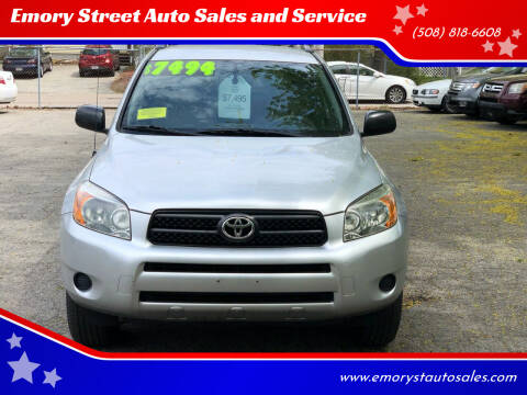 2006 Toyota RAV4 for sale at Emory Street Auto Sales and Service in Attleboro MA
