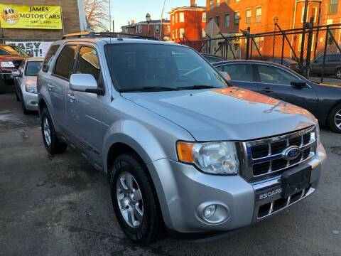 2010 Ford Escape for sale at James Motor Cars in Hartford CT