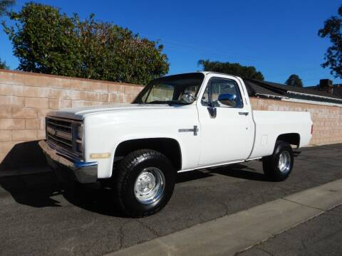 1987 Chevrolet R/V 10 Series for sale at California Cadillac & Collectibles in Los Angeles CA