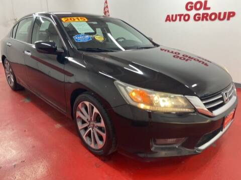 2015 Honda Accord for sale at GOL Auto Group in Austin TX
