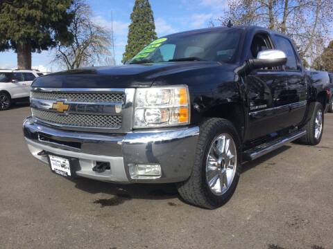 2013 Chevrolet Silverado 1500 for sale at Pacific Auto LLC in Woodburn OR