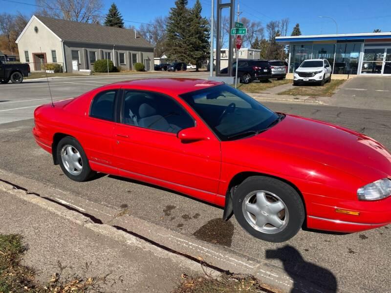 1999 Chevrolet Monte Carlo for sale at Halvorson Auto in New Rockford ND
