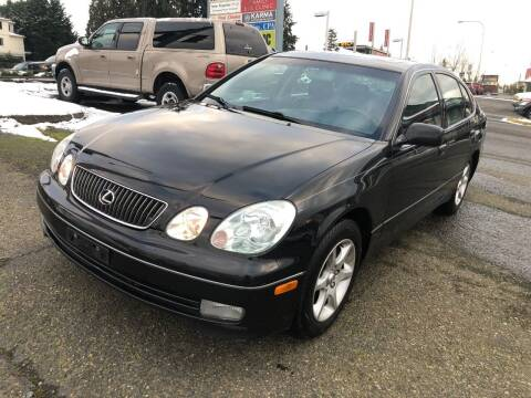2001 Lexus GS 300 for sale at KARMA AUTO SALES in Federal Way WA