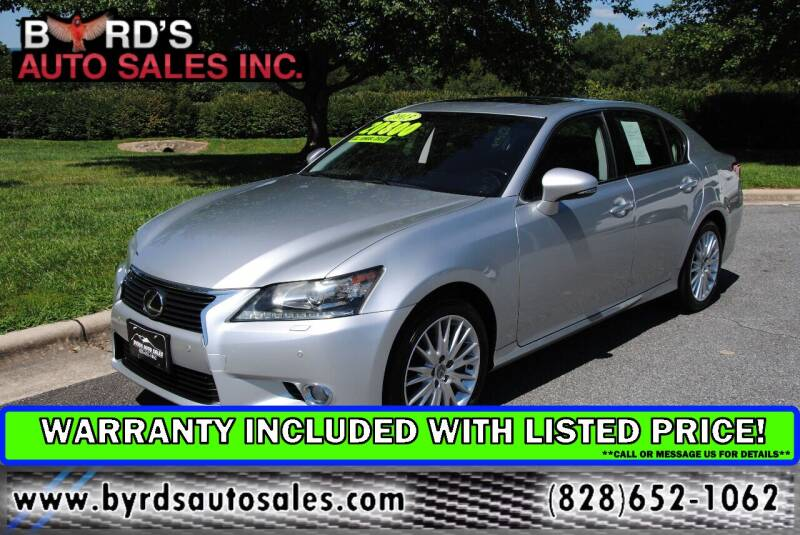 2013 Lexus GS 350 for sale at Byrds Auto Sales in Marion NC