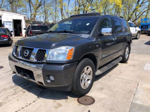 2007 Nissan Armada for sale at Barga Motors in Tewksbury MA