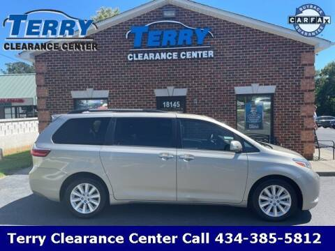 2015 Toyota Sienna for sale at Terry Clearance Center in Lynchburg VA